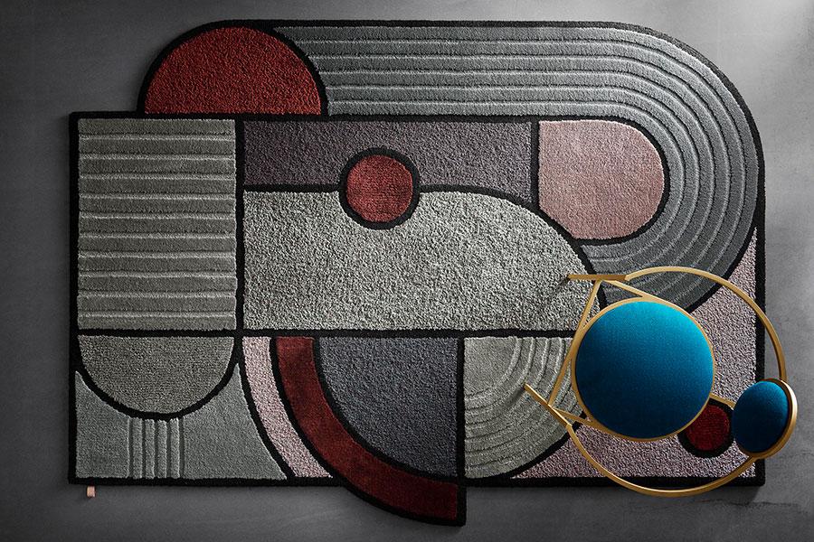 Tappeto dal design moderno n.39