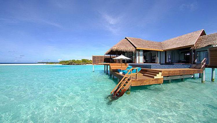 Foto dell'Anantara Kihavah Villas Resort & Spa alle Maldive n.01