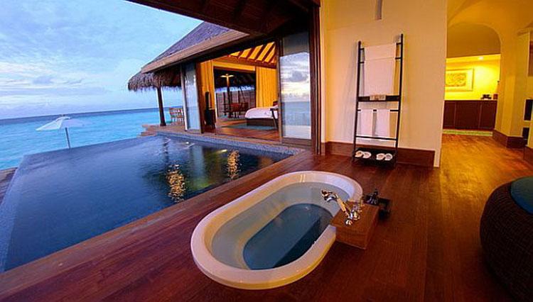 Foto dell'Anantara Kihavah Villas Resort & Spa alle Maldive n.02