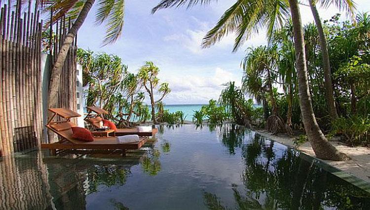 Foto dell'Anantara Kihavah Villas Resort & Spa alle Maldive n.04