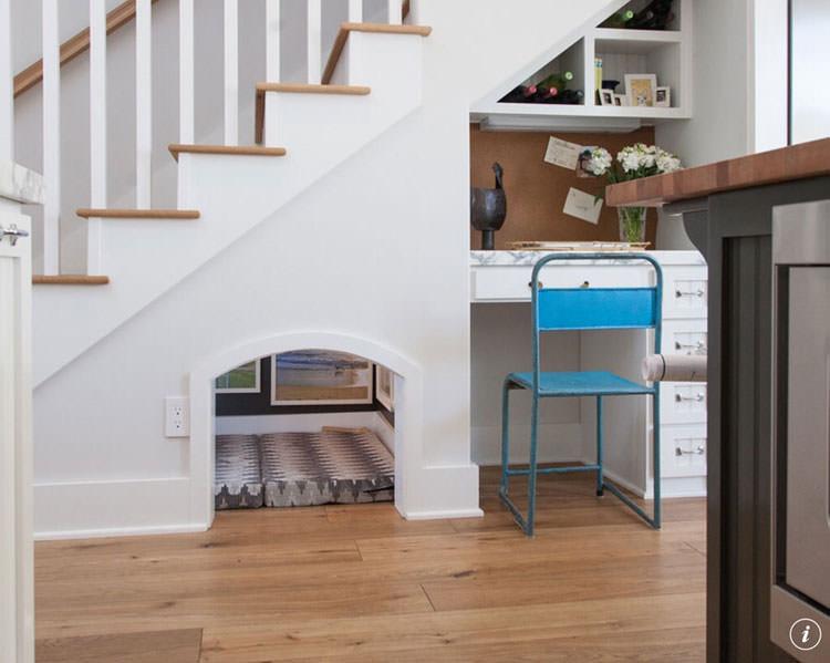 Come arredare un sottoscala 10 idee originali - Pets for small spaces style ...