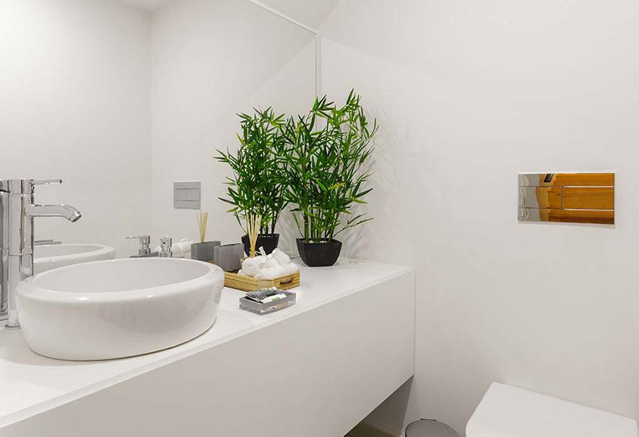 Idee per arredare il bagno con le piante n.04