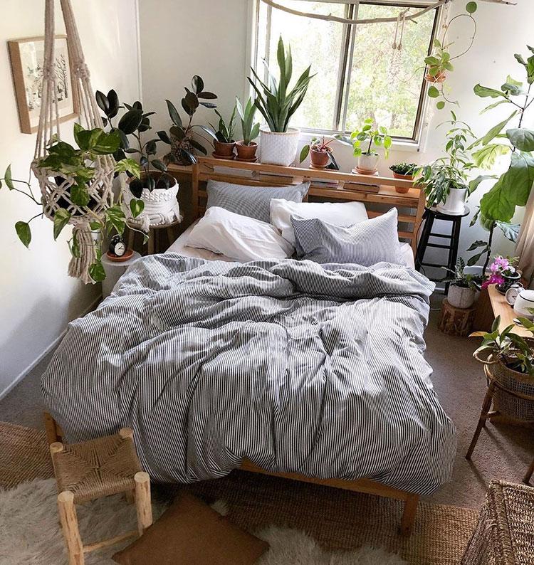 Idee per arredare il bagno con le piante n.05