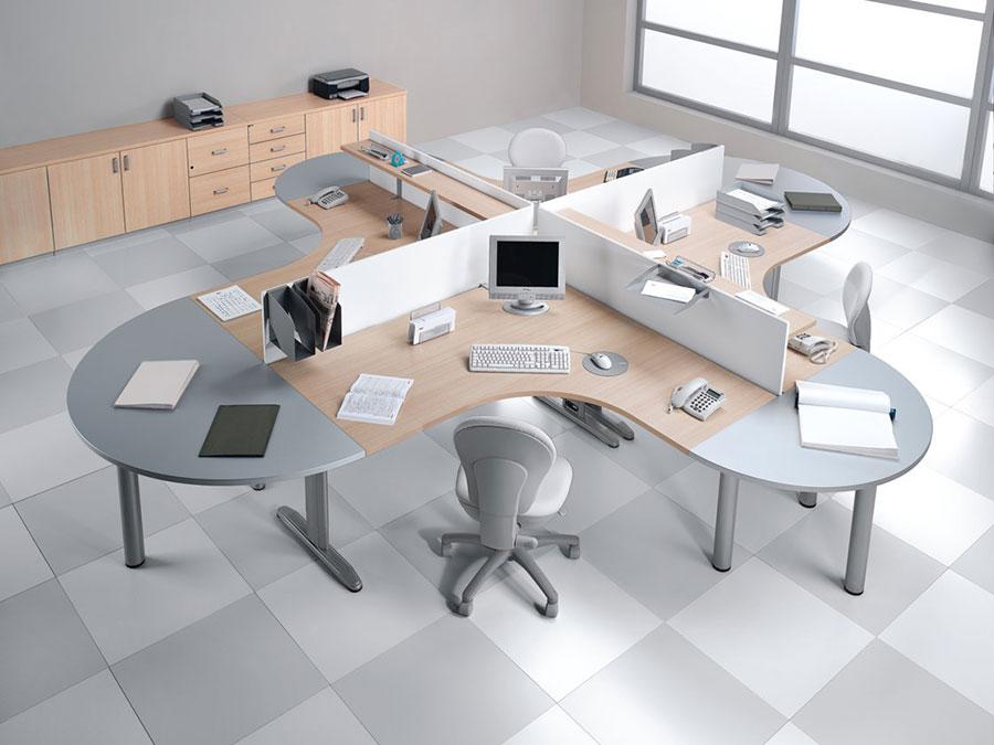 Idee per arredare un ufficio moderno n.08