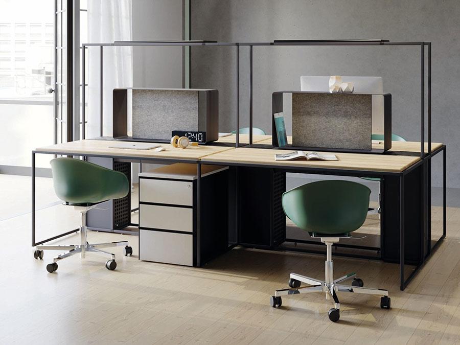 Idee per arredare un ufficio moderno n.15