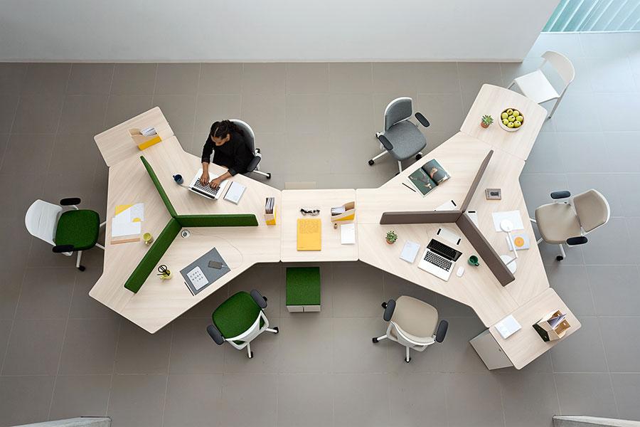 Idee per arredare un ufficio moderno n.16