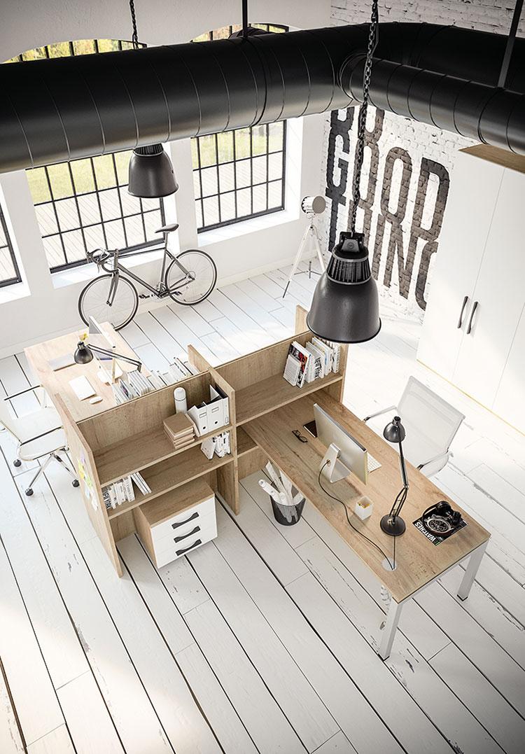 Idee per arredare un ufficio moderno n.18