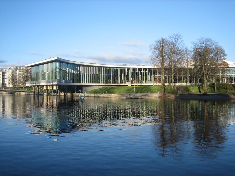 Foto della Biblioteca Halmstad in Svezia