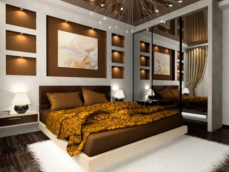 Camera da letto in stile moderno n.01