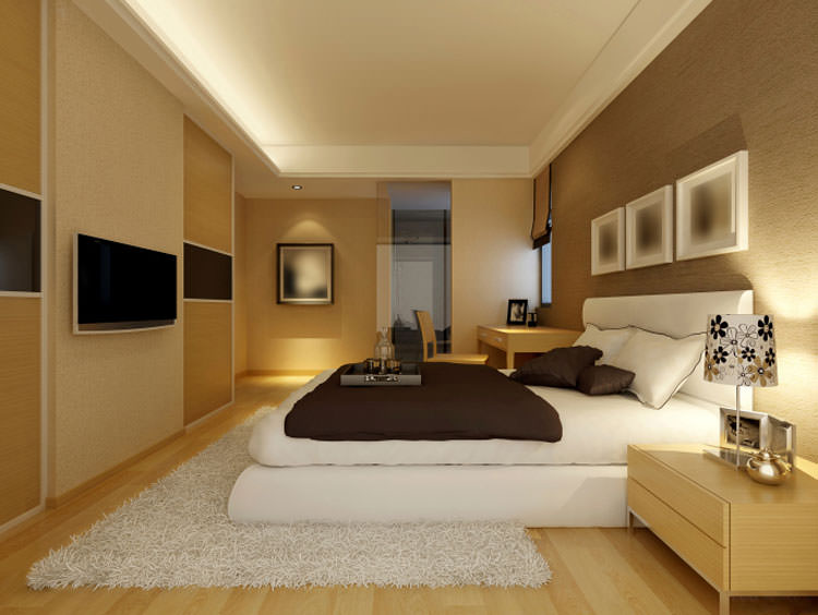 Camera da letto in stile moderno n.02