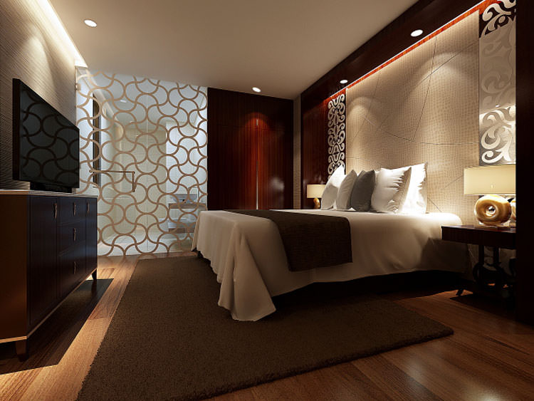 25 idee per arredare la camera da letto in stile moderno for Main bedroom designs pictures
