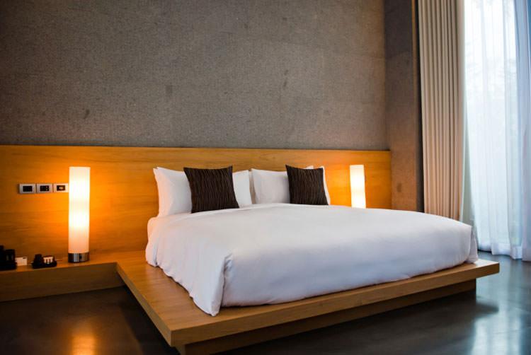 Camera da letto in stile moderno n.11