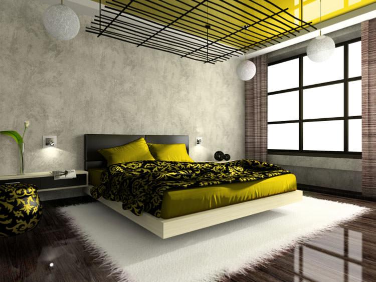 Camera da letto in stile moderno n.12