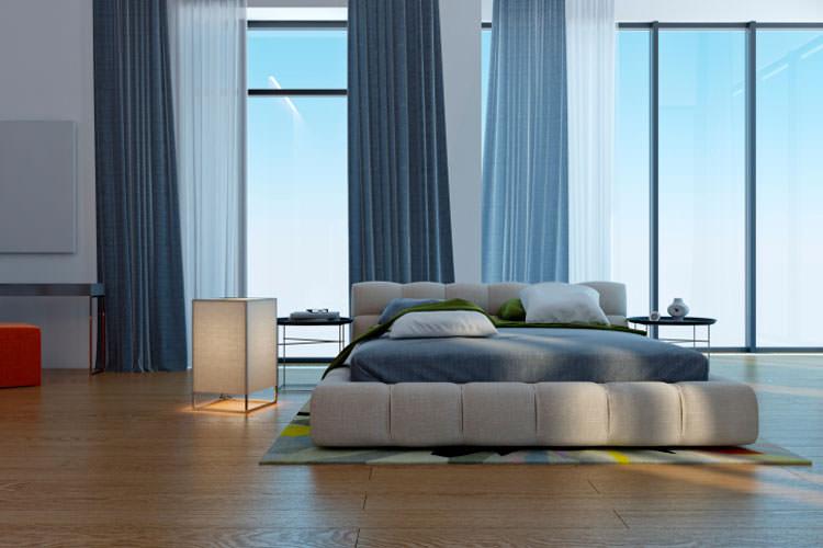 Camera da letto in stile moderno n.13