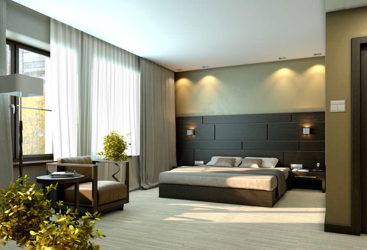 Camera da letto in stile moderno n.15