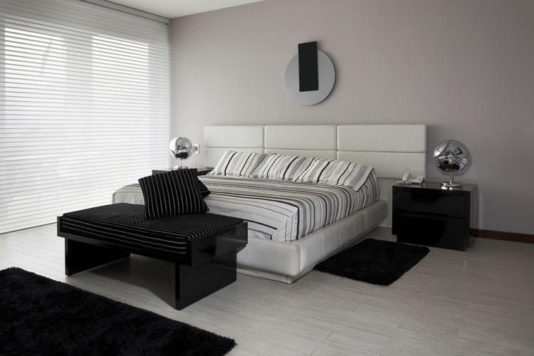Camera da letto in stile moderno n.16