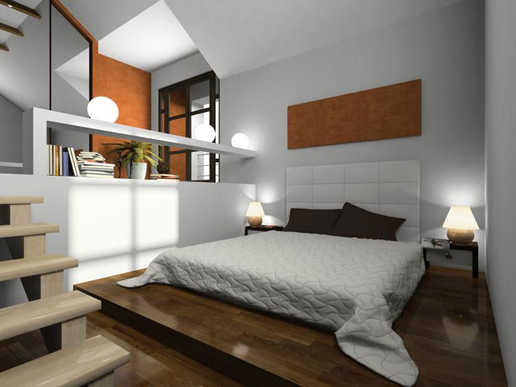 80 idee per arredare una camera da letto moderna for Camere da letto basso costo