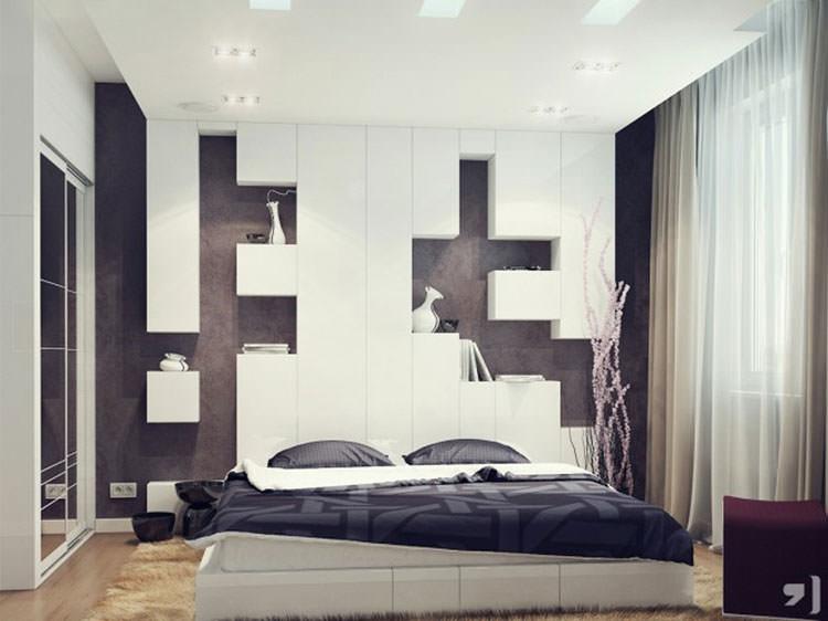 Camera da letto in stile moderno n.20
