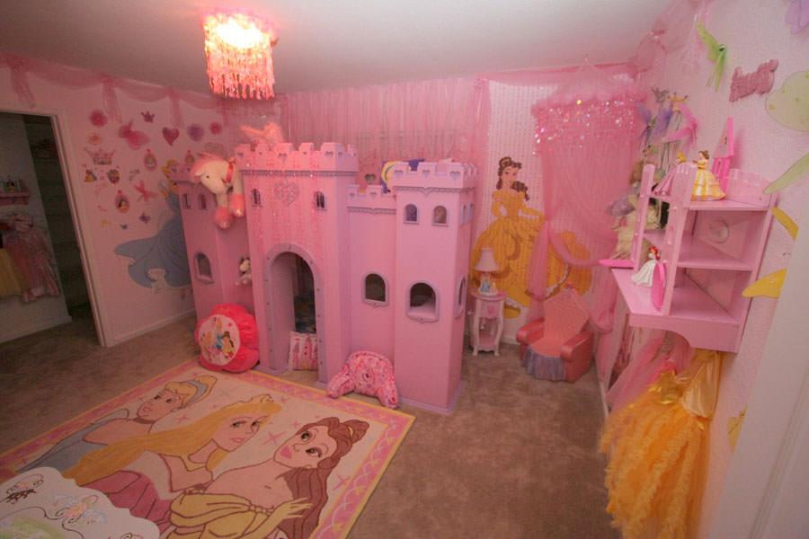 Cameretta delle principesse Disney per bambini n.03