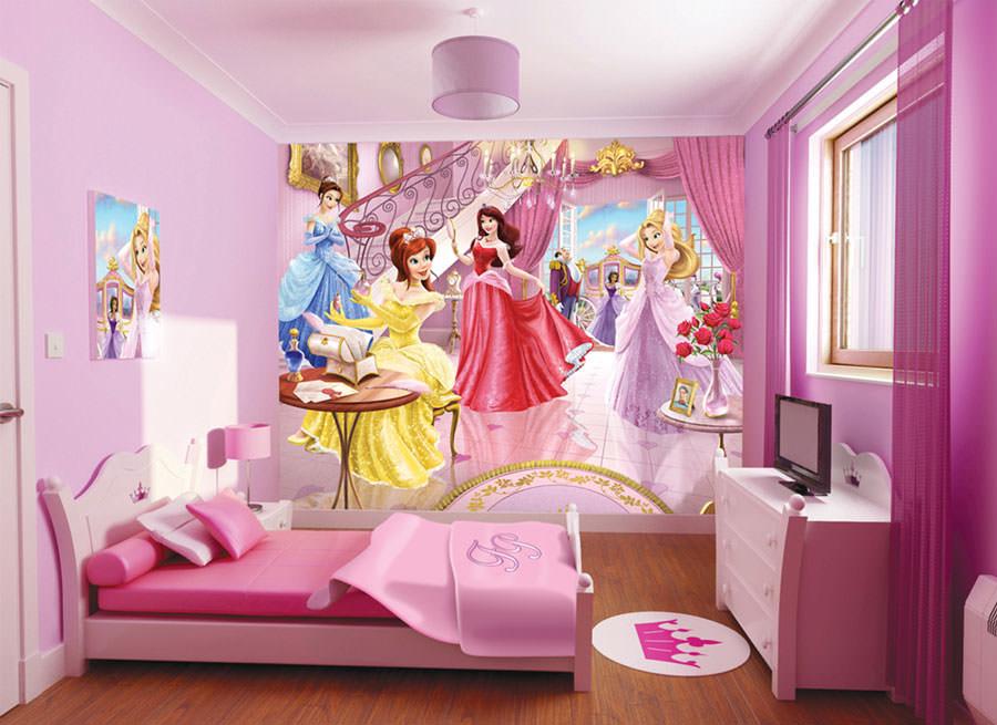Cameretta delle principesse Disney per bambini n.05