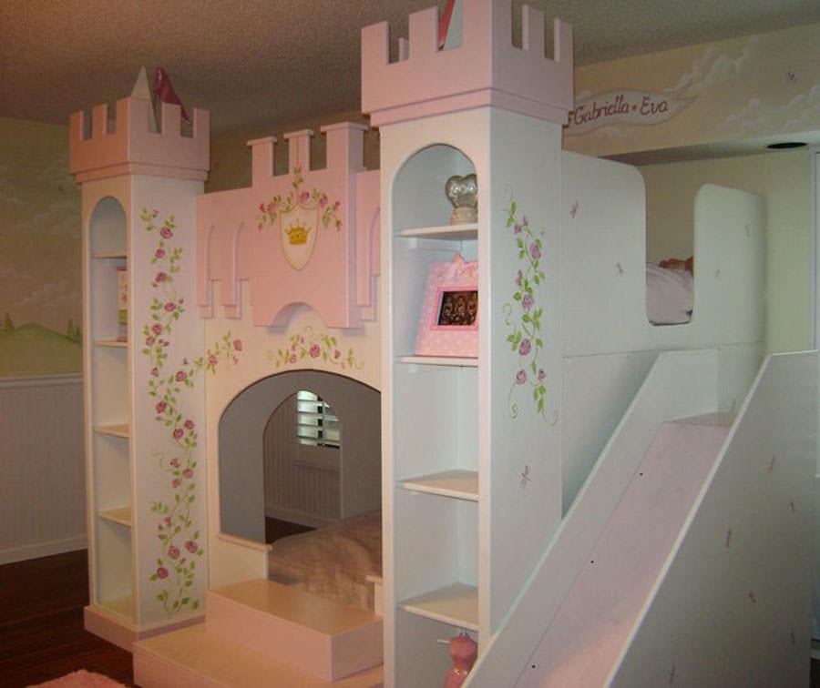 Cameretta delle principesse Disney per bambini n.06