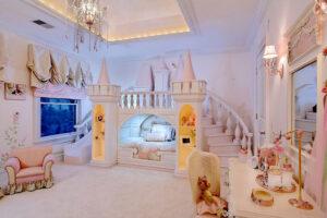 Letti A Castello Stile Country.20 Meravigliose Camerette Da Principessa Disney Per Bambine