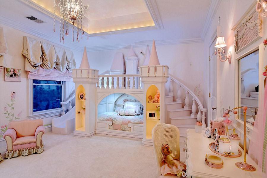 Cameretta delle principesse Disney per bambini n.08