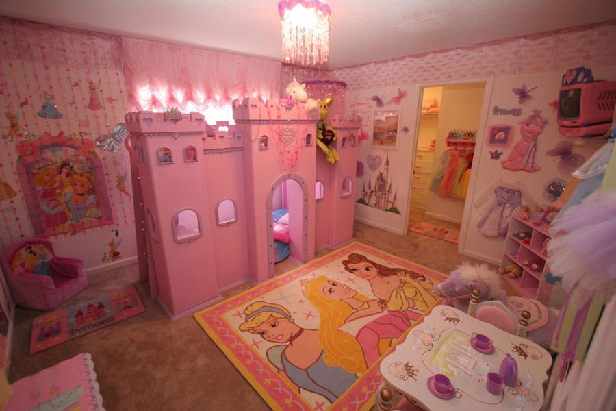 Cameretta delle principesse Disney per bambini n.11