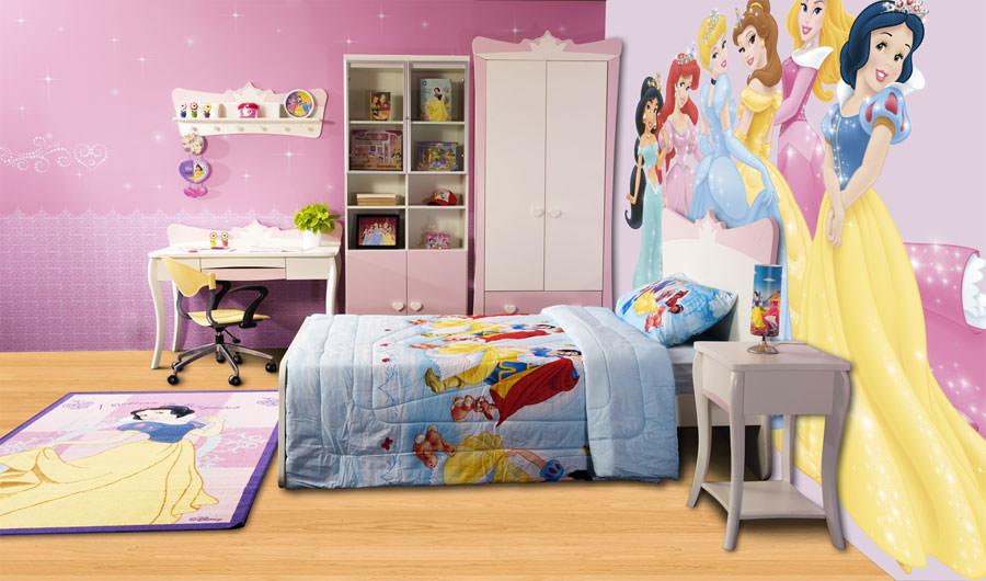 Cameretta delle principesse Disney per bambini n.14