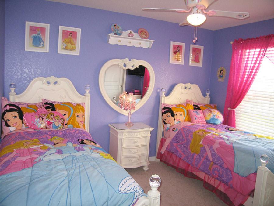 Cameretta delle principesse Disney per bambini n.16