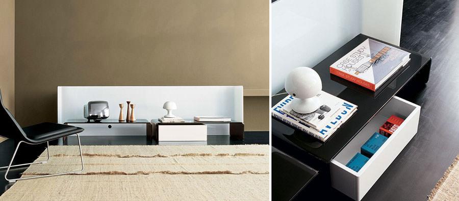 Mobile porta tv dal design particolare n.01