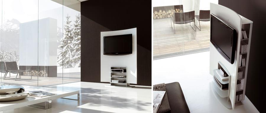 Mobile porta tv dal design particolare n.02