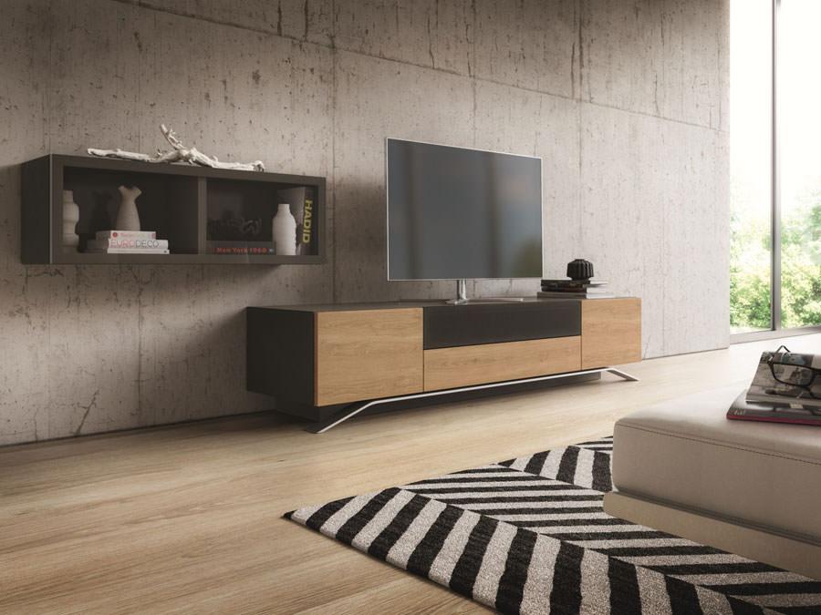 Mobile porta tv dal design particolare n.03