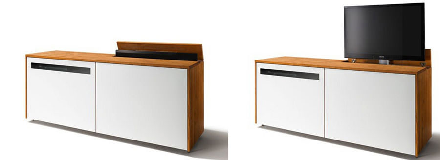 Mobile porta tv dal design particolare n.05