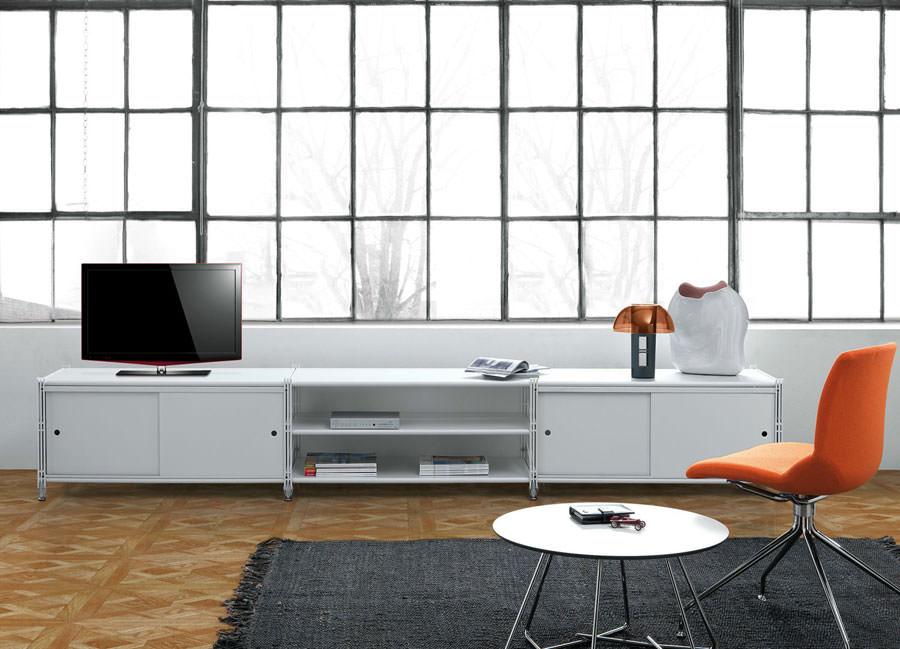 Mobile porta tv dal design particolare n.08
