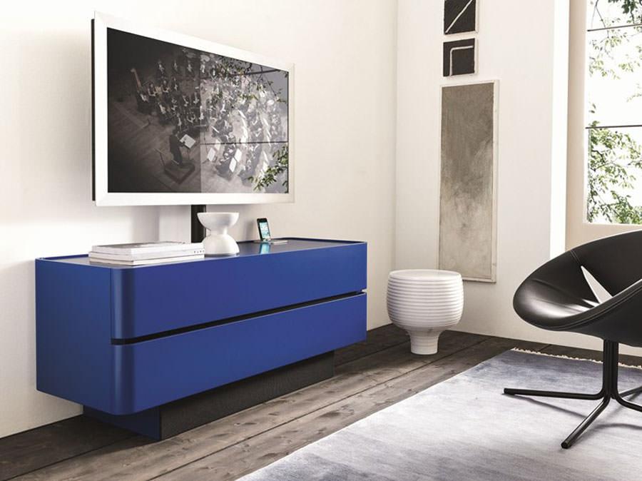 Mobile porta tv dal design particolare n.10