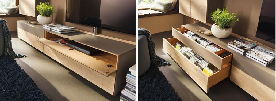 Mobile porta tv dal design particolare n.13