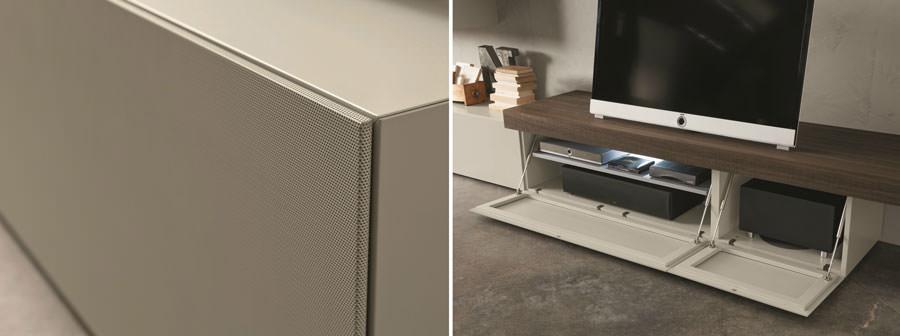 Mobile porta tv dal design particolare n.18