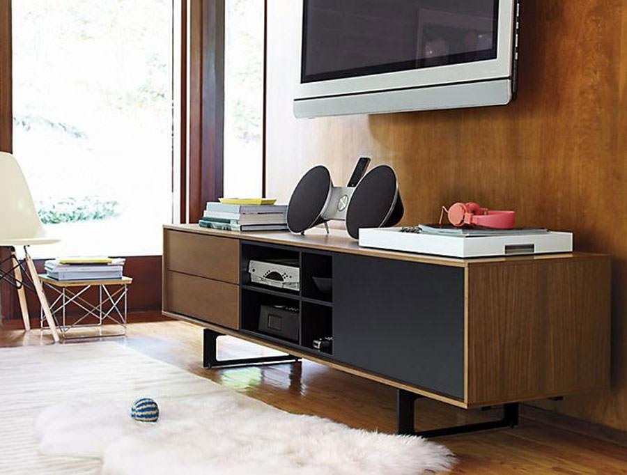 25 mobili porta tv dal design particolare - Mobile porta tv moderno design ...
