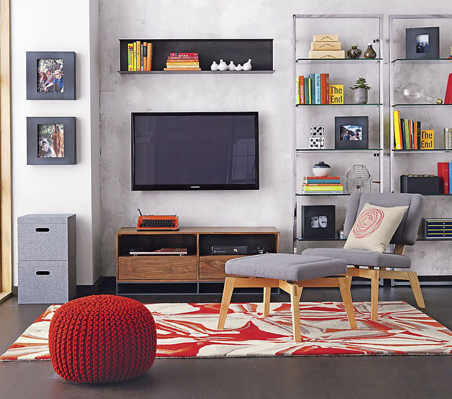 Mobile porta tv dal design particolare n.22