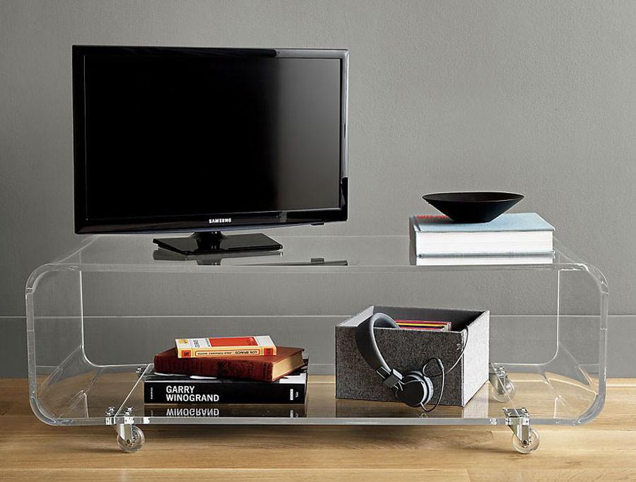 Mobile porta tv dal design particolare n.24