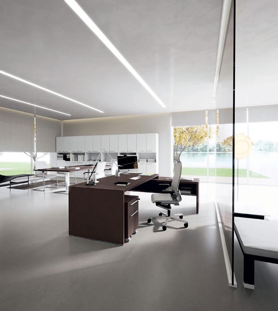 Mobili per ufficio dal design moderno 25 idee di arredo for Aziende mobili per ufficio
