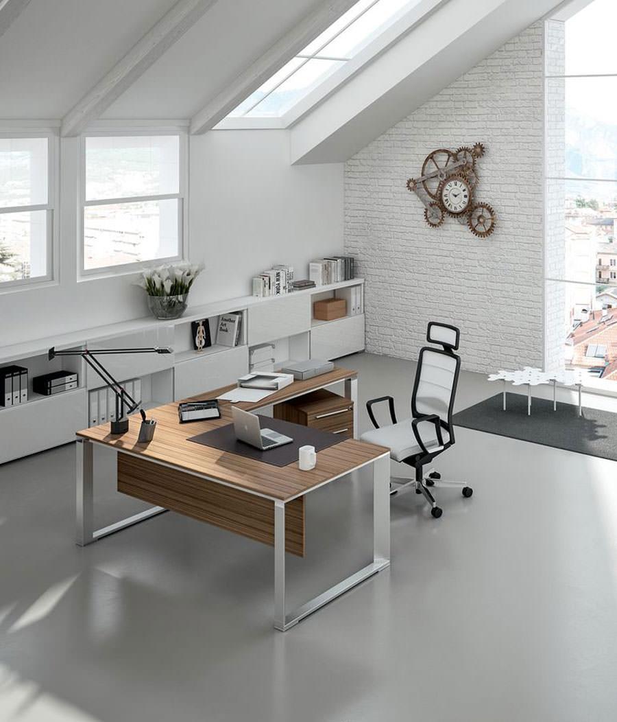 Mobili per ufficio dal design moderno 25 idee di arredo for Cassettiere design per ufficio