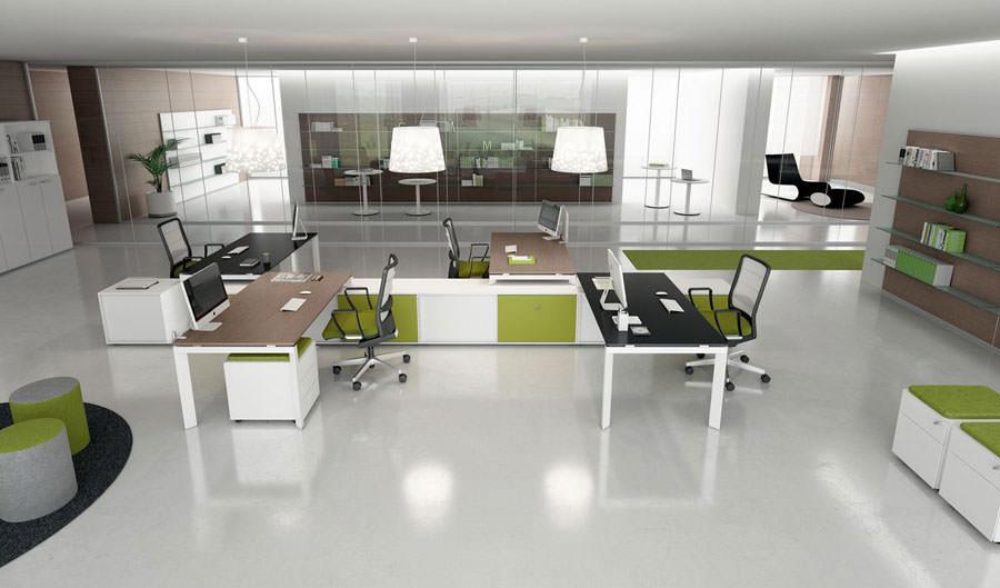 Mobili per ufficio dal design moderno 25 idee di arredo for Mobili x ufficio economici