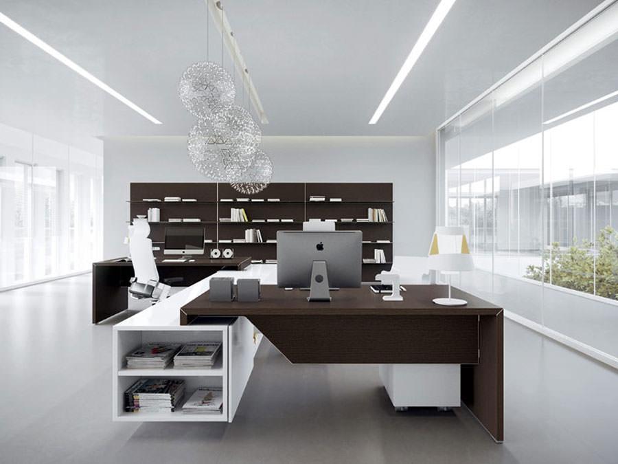 Mobili per ufficio dal design moderno 25 idee di arredo for Uffici moderni