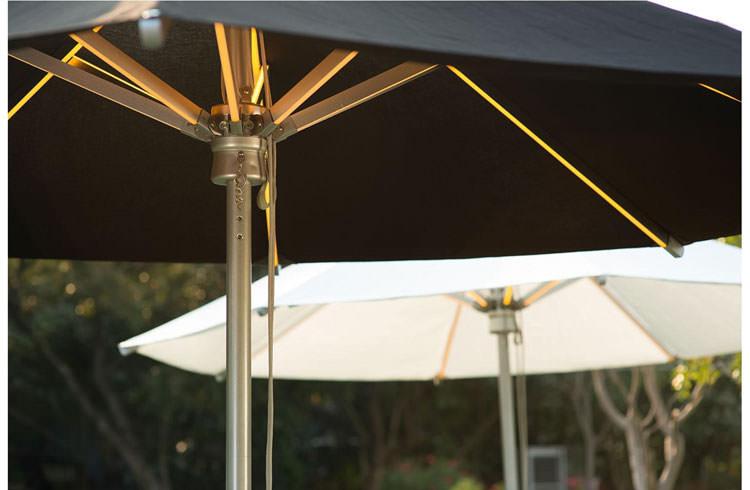 Lampada led per ombrelloni lampada per ombrellone luxor led