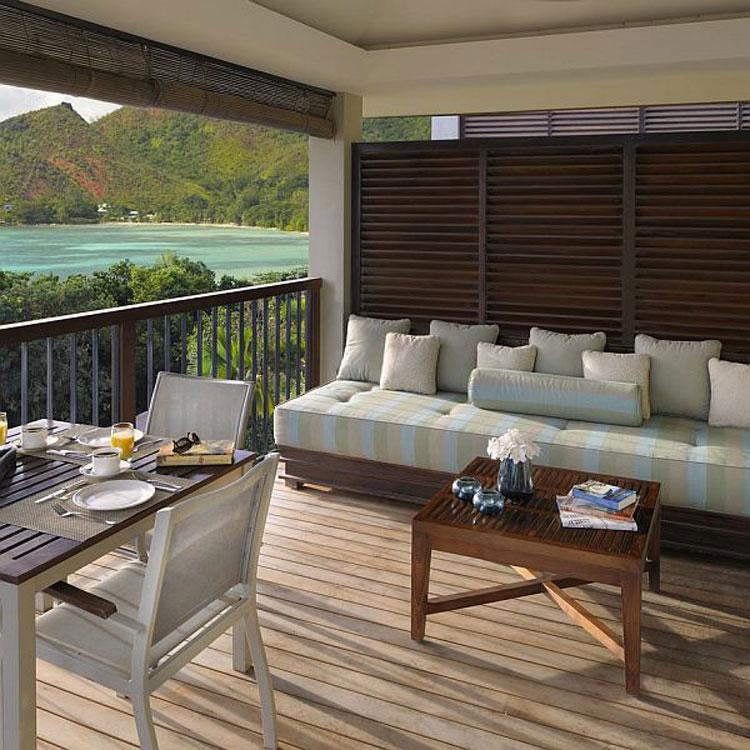 Foto del Raffles Praslin Resort alle Seychelles n.02
