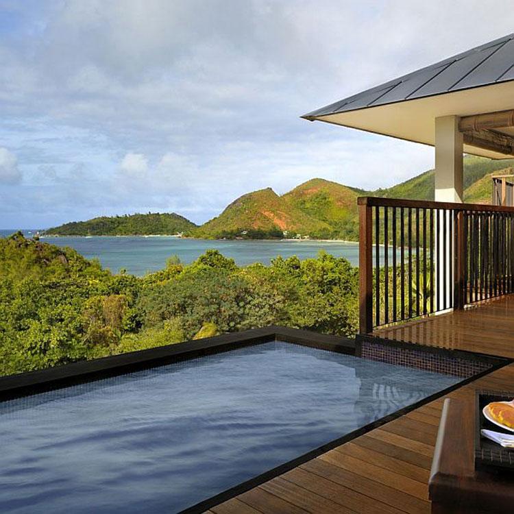 Foto del Raffles Praslin Resort alle Seychelles n.04