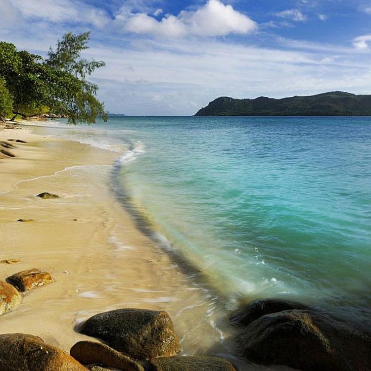 Foto del Raffles Praslin Resort alle Seychelles n.06