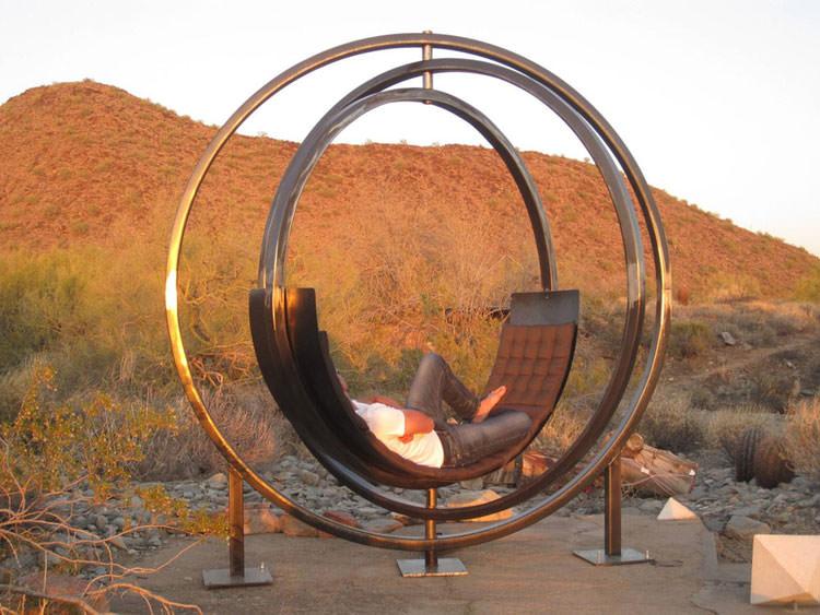 Spettacolare sedia interattiva da esterni n.01